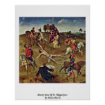 Martyrdom Of St. Hippolytus By Bouts Dieric Print