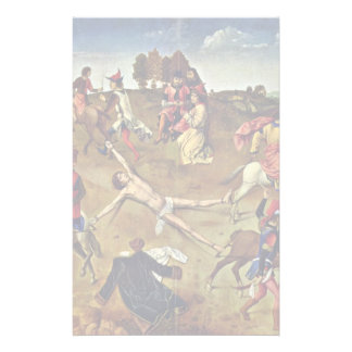 Martyrdom Of St. Hippolytus By Bouts Dieric Personalized Stationery