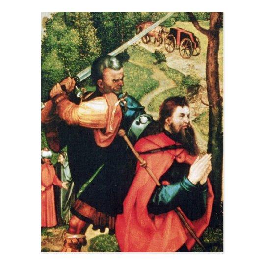 Martyrdom of St. James Postcard