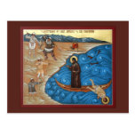 Martyrdom of St. Juvenaly Prayer Card Post Cards
