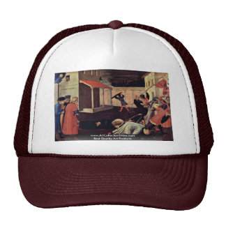 Martyrdom Of St. Mark By Angelico Fra Trucker Hat