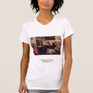 Martyrdom Of St. Mark By Angelico Fra Tee Shirt