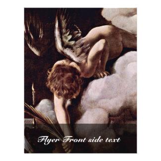 Martyrdom Of St Matthew By Michelangelo Merisi Flyer