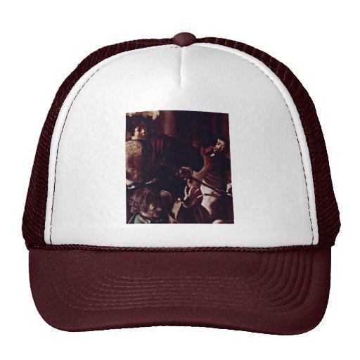 Martyrdom Of St. Matthew,  By Michelangelo Merisi Trucker Hat