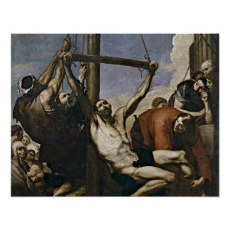 Martyrdom of St. Philip by Jusepe de Ribera Poster