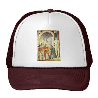 Martyrdom Of St. Sebastian, By Foppa Vincenzo Trucker Hat