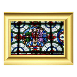 Martyrdom of  St Thomas Becket Postcard