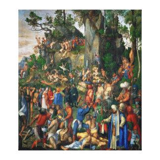 Martyrdom of the Ten Thousand by Albrecht Dürer Canvas Print