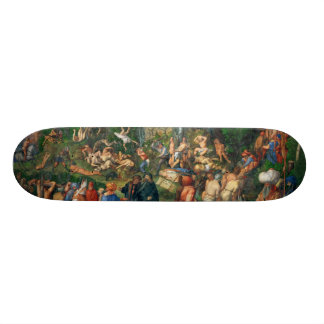 Martyrdom of the Ten Thousand by Albrecht Dürer Skateboard Deck