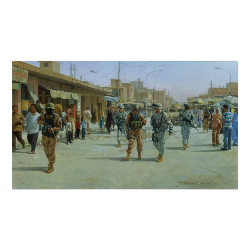 Martyrs' Market by Larry Selman Posters