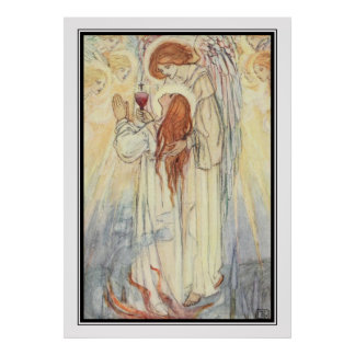 Martyrs' Song by Florence Harrison Print