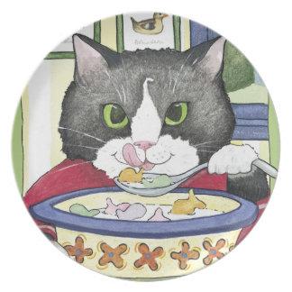 Marty's Breakfast, Plate