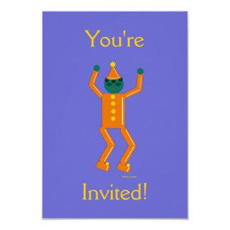 Martzkin Boy's Halloween Party Invitation
