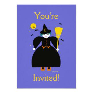 Martzkin Girl's Halloween Party Invitation