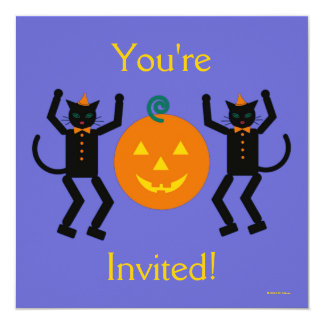 Martzkin Halloween Party Invitation