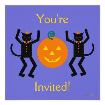 MartzArt Martzkin Halloween Party Invitation