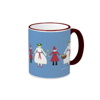 Martzkin St. Lucia Day Ceramic Mug