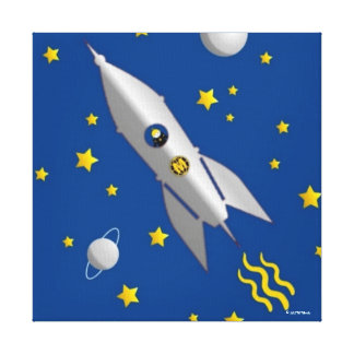 Martzkins In Outer Space Canvas