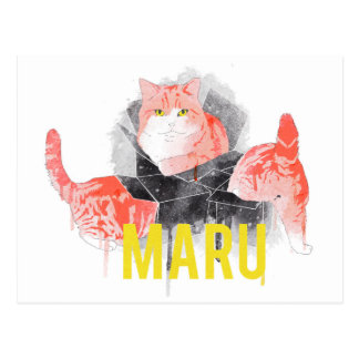 MARU POSTCARD