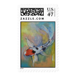 Maruten Butterfly Koi Stamp
