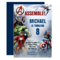 Marvel | Avengers - Birthday Invitation