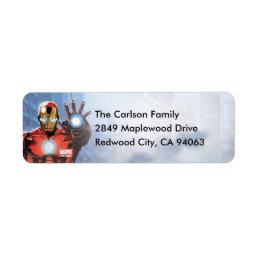 Marvel   Avengers - Birthday Label