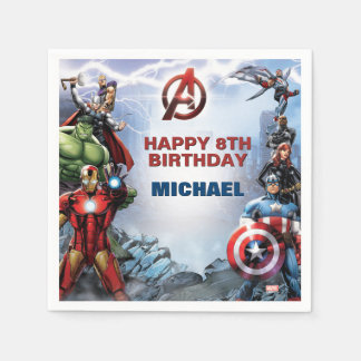 Marvel | Avengers - Birthday Napkin