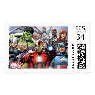 Marvel | Avengers - Birthday Postage