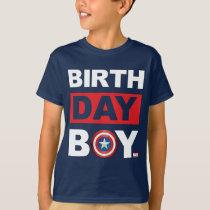 Marvel   Captain America - Birthday T-Shirt