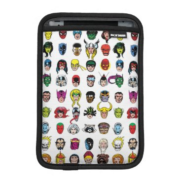 Marvel Comic Characters Pattern iPad Mini Sleeve