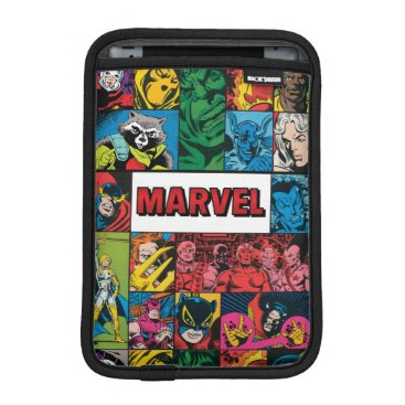 Marvel Comics Hero Collage iPad Mini Sleeve
