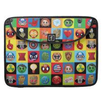 Marvel Emoji Characters Grid Pattern Sleeve For MacBooks