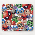 """Marvel Emoji Characters Toss Pattern Mouse Pad<br><div class=""""desc"""">Marvel Emoji 