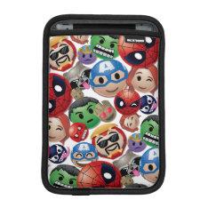 Marvel Emoji Characters Toss Pattern Sleeve For Ipad Mini at Zazzle