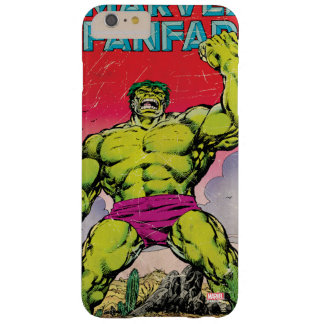 Marvel Fanfare Hulk Comic #29 Barely There iPhone 6 Plus Case