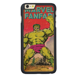 Marvel Fanfare Hulk Comic #29 Carved Maple iPhone 6 Plus Case