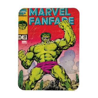 Marvel Fanfare Hulk Comic #29 Rectangular Photo Magnet