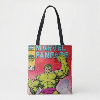 Marvel Fanfare Hulk Comic #29 Tote Bag