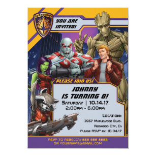 Marvel Invitations Zazzle
