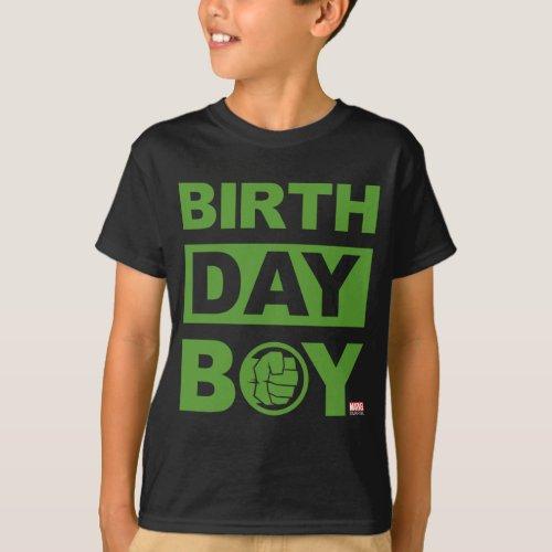 Marvel  Incredible Hulk _ Birthday T_Shirt