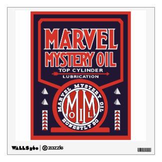 Marvel Mystery Oil vintage sign. Flat version Wall Decor