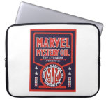 Marvel Mystery Oil vintage sign reproduction Computer Sleeve