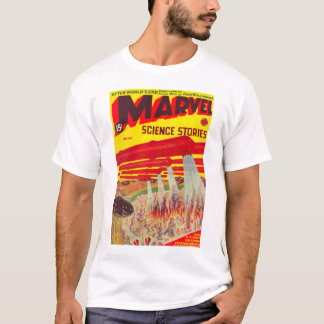 Marvel Science Stories Feb. 1939 pulp T-shirt