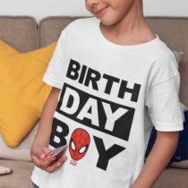Marvel   Spiderman - Birthday Boy T-Shirt