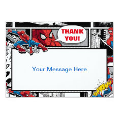 Marvel | Spiderman - Birthday Card at Zazzle