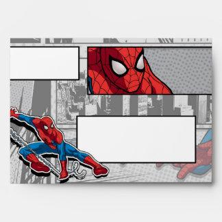 Marvel   Spiderman - Birthday Envelope
