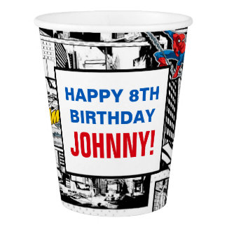 Marvel | Spiderman - Birthday Paper Cup