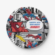 Marvel | Spiderman - Birthday Paper Plate at Zazzle
