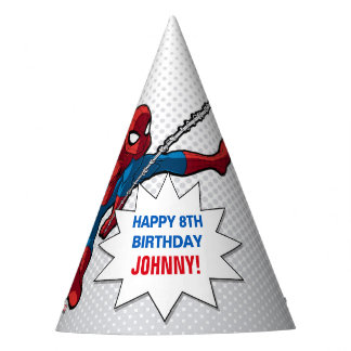Marvel   Spiderman - Birthday Party Hat