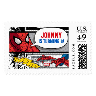 Marvel | Spiderman - Birthday Postage